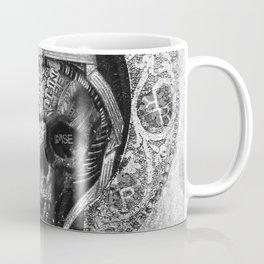 Rubino Vintage Retro Skull Metal Coffee Mug