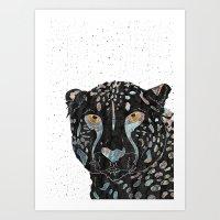 cheetah Art Prints featuring Cheetah by  Steve Wade ( Swade)