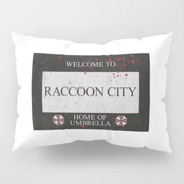 Resident Evil Welcome to Raccoon City Sign Pillow Sham