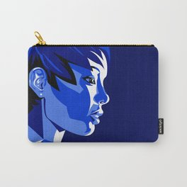 Blue Shadow Carry-All Pouch