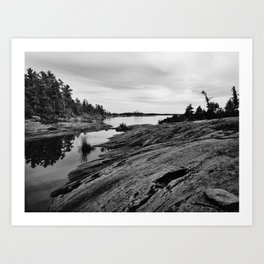 The Massasauga Park Art Print