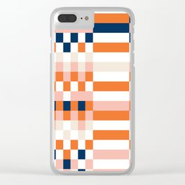 Connecting lines 1 Clear iPhone Case