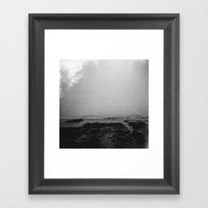 oregon coast . holga Framed Art Print
