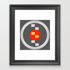 Orange Center Framed Art Print