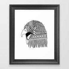 Indian Eagle Framed Art Print