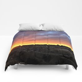 Jerusalem Sunset Comforters