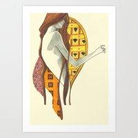 gustav klimt Art Prints featuring gustav klimt by Lily Snodgrass