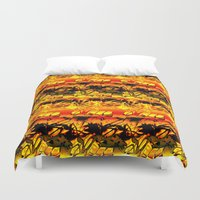 africa Duvet Covers featuring Africa. by Assiyam