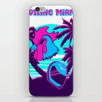 hotline miami iPhone & iPod Skins featuring Hotline Miami  by noxioussomnium