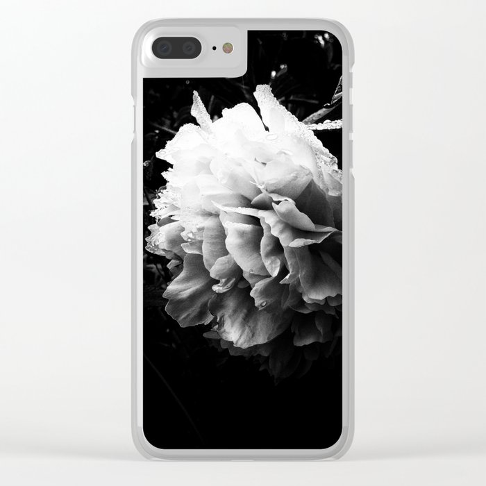 Lush Clear iPhone Case
