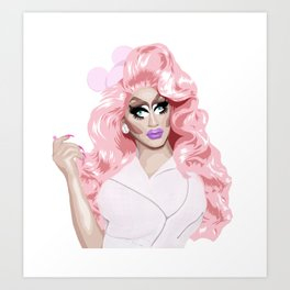 Trixie Mattel, RuPaul's Drag Race Queen Art Print