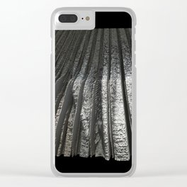 Free Vertical Composition # 246 Clear iPhone Case