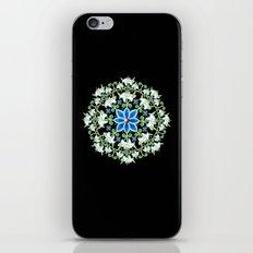 Folkloric Flower Crown iPhone & iPod Skin