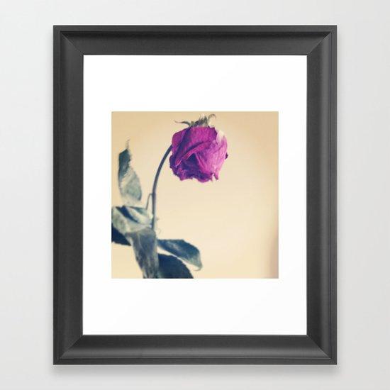 fall seven times, STAND UP EIGHT. Framed Art Print