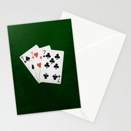 Blackjack Twenty One Stationery Cards