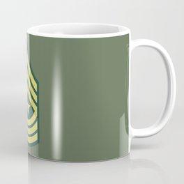 Sergeant Major (OD Green) Coffee Mug
