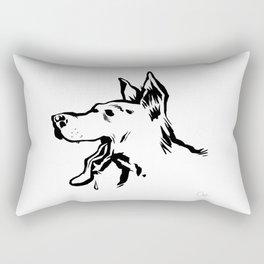 Bon chien Rectangular Pillow