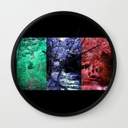 FFForest Fantasies Drained Blood Wall Clock