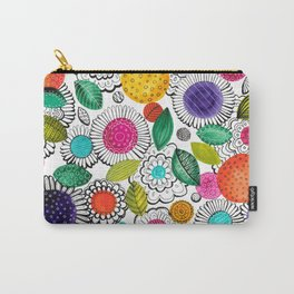 Floral Fun Carry-All Pouch