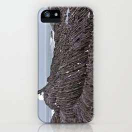 The Ends of the Earth are Frozen in Time iPhone Case