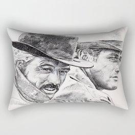 butch cassidy and the sundance kid Rectangular Pillow