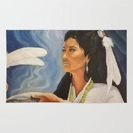 Native American Shaman Rug