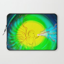 Lucky Angels- Good Luck Laptop Sleeve
