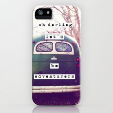 oh darling, let's be adventurers Slim Case iPhone (5, 5s)