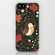 Christmas Robin Slim Case iPhone (5, 5s)