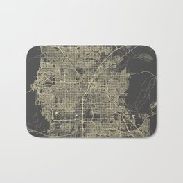 Las Vegas Map #1 Bath Mat