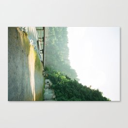 walk to the waterfront Canvas Print