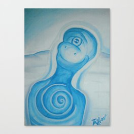 Bobbin in wonderhappy Canvas Print