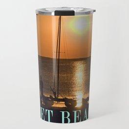 SUNSET BEACH - ISLE RUEGEN - BALTIC SEA Travel Mug