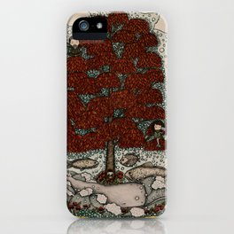 phones are for the uninspired (and the far away) iPhone Case