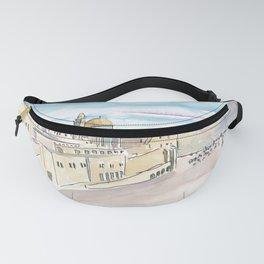 Jerusalem Temple Mount With Western Wall Fanny Pack