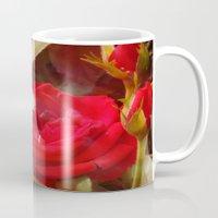 ruby Mugs featuring Ruby by Aubrey