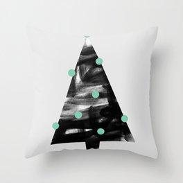 Christmas Tree 1 Throw Pillow