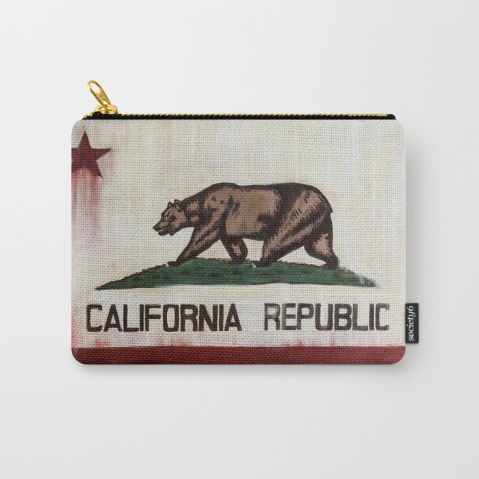 CALIFORNIA REPUBLIC Carry-All Pouch