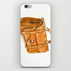 Brown Bag iPhone & iPod Skin