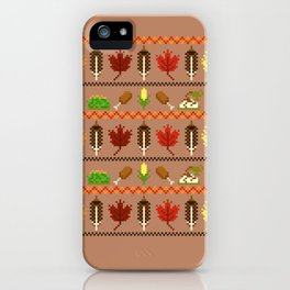 Ugly Thanksgiving Sweater iPhone Case