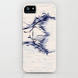 Downpour Truth iPhone Case