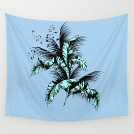 the vintage dot tropical Wall Tapestry