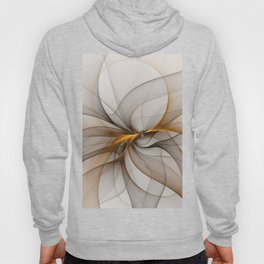 Elegant Chaos, Abstract Fractal Art Hoody