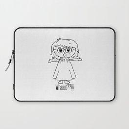 Surprised Harper Laptop Sleeve