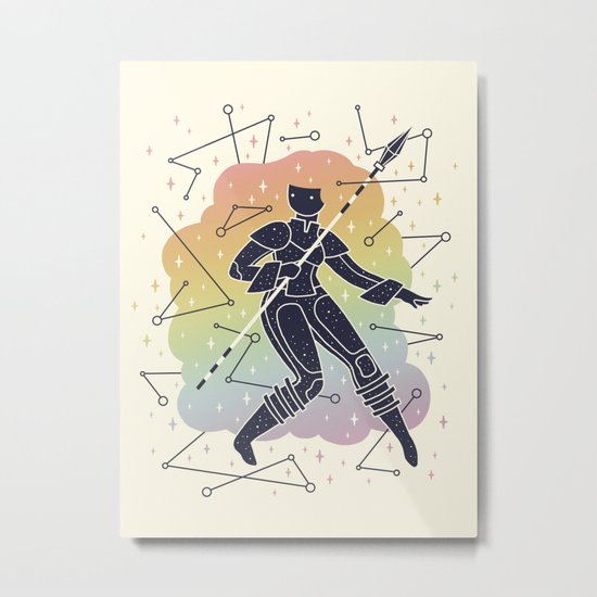 Rainbow Warrior Metal Print