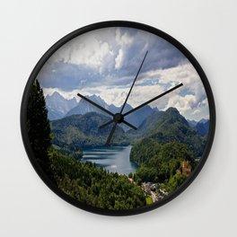 Bavaria, Germany Wall Clock