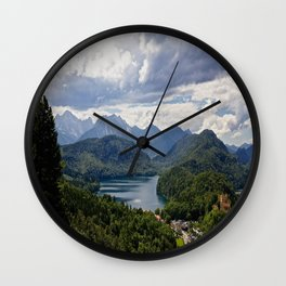 Bavaria, Germany Wall Clock