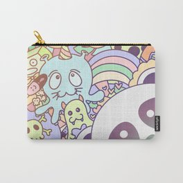 Kawaii panda pastel cute doodle Carry-All Pouch