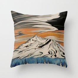 Shasta Cosmos Throw Pillow