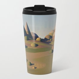 Geometric Landscape Travel Mug